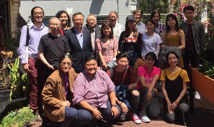 Chan Fellows 2019 and Lingnan Alumni